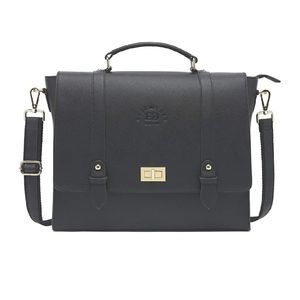 """Laptop Briefcase For up to 15.6"""" Laptops Black"""